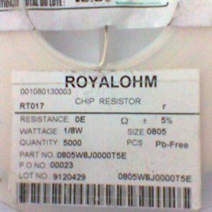 Chip Resistor RT017 SMD
